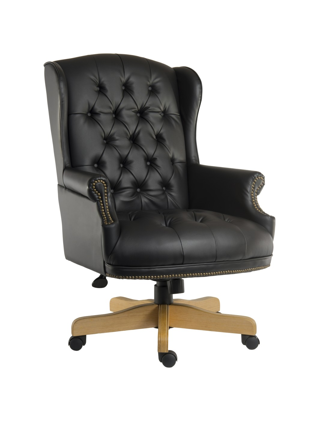 stool chair fantastic furniture cover rentals houston tx chairman noir leather executive b6927 121 office