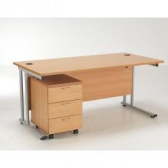 Office Chair Pedestal Large Size Tc Lite 1600mm Desk And Baresi Bundle