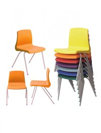 Metalliform NP3 Stacking Classroom Chair