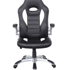 White Leather Office Chair Uk Ingenuity 3 In 1 Smartclean High Talladega Racing Style Aoc8211whi 121