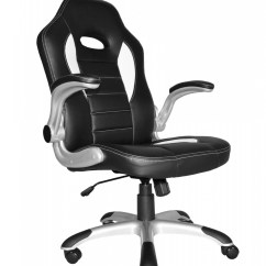 Racing Office Chairs Overstock And Ottomans Talladega Style Chair Aoc8211whi 121