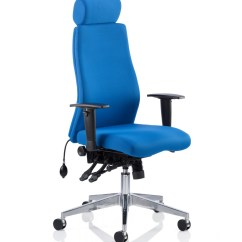 Add On Headrest For Office Chair The Revolving Base Dynamic Onyx Fabric With Op000096