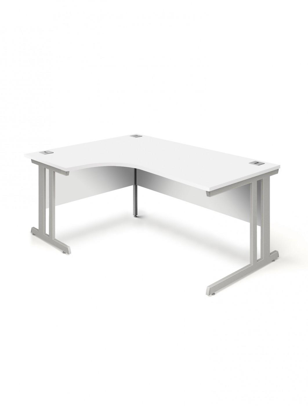 white ergonomic office chair uk design drawing desk 1600mm aspire ergo et ed 1600 rl wh