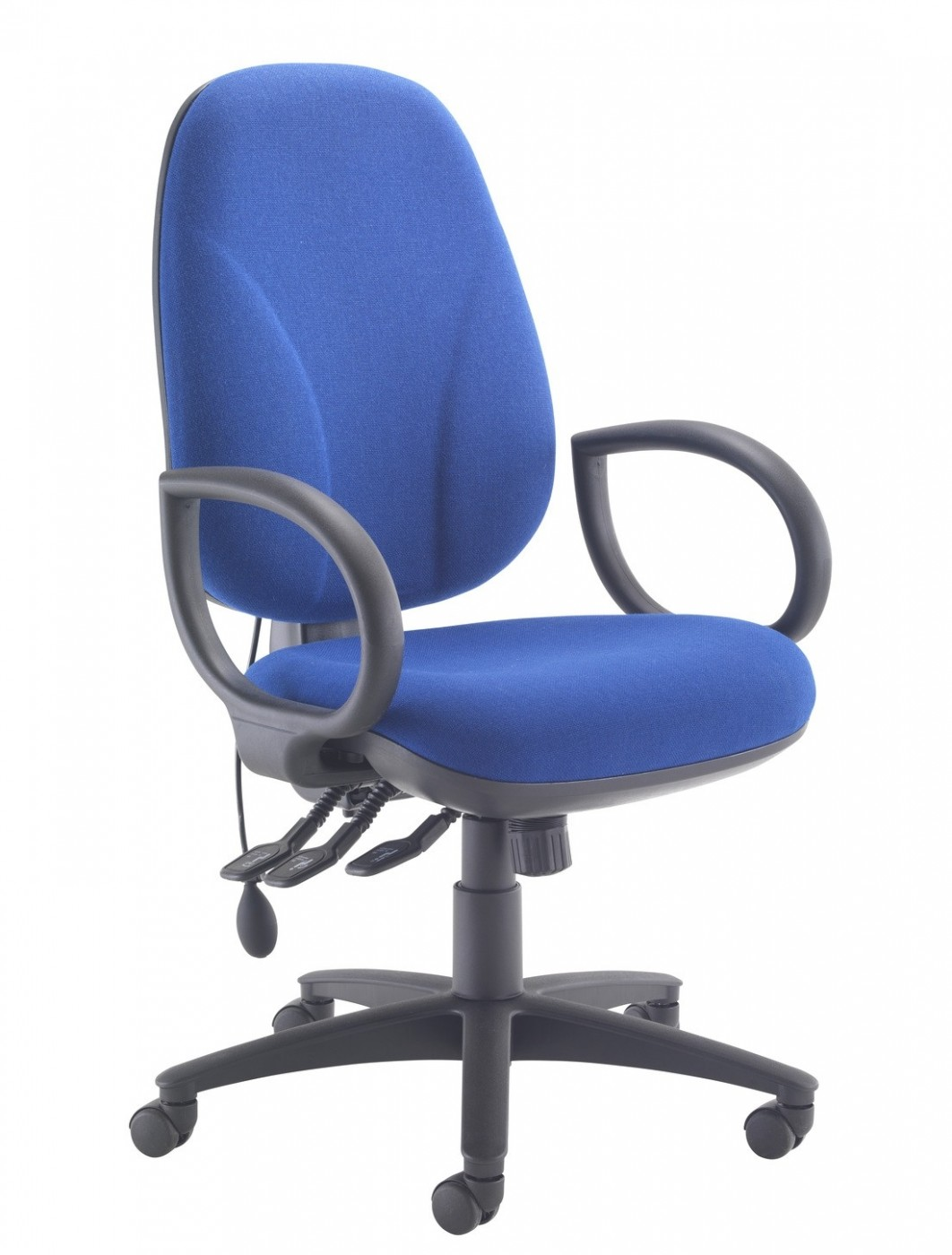 blue office chair boat chairs folding deck tc concept maxi ergo ch0808 in