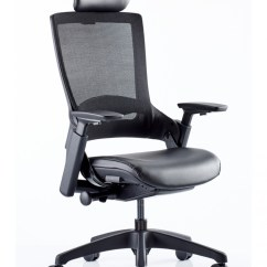 Add Headrest To Office Chair Chairs Ergonomic Perth Molet Task Exec Mesh Kc0277