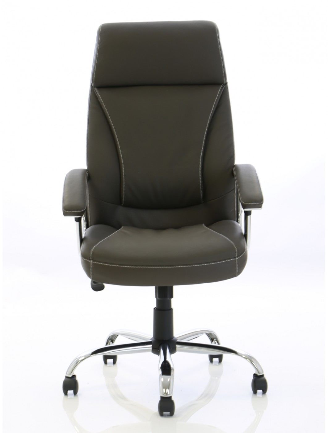 executive brown leather office chairs bariatric transport chair 500 lbs penza