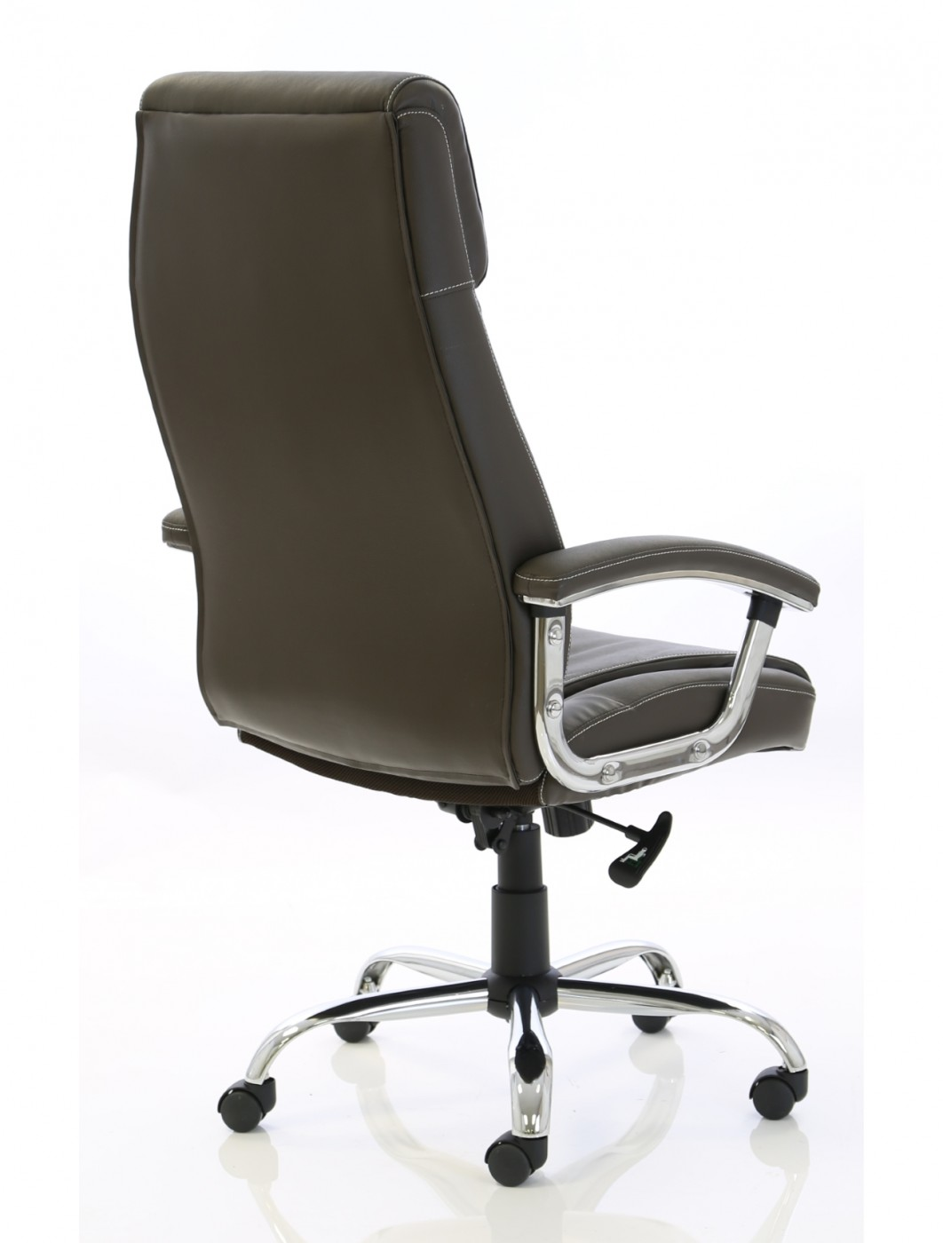 executive brown leather office chairs gold throne chair penza