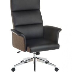 High Desk Chair Chairs With Umbrellas Office Teknik Elegance Back Executive