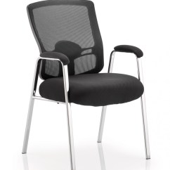 Office Visitor Chairs Outdoor Dining Bunnings Dynamic Portland With Arms