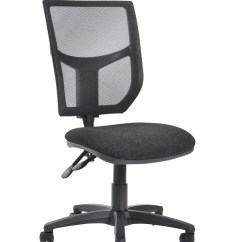 Office Chair Levers White Fabric Altino High Back 2 Lever Operators Ah10 000 121