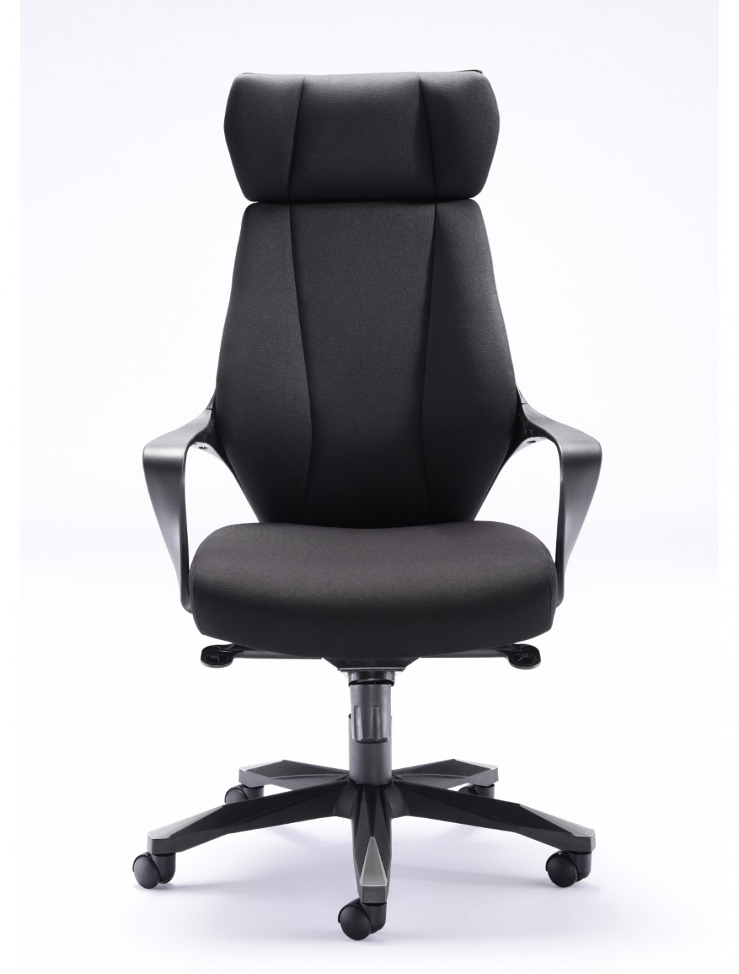 fabric office chairs uk fishing chair accessories rocky ch1783bk 121