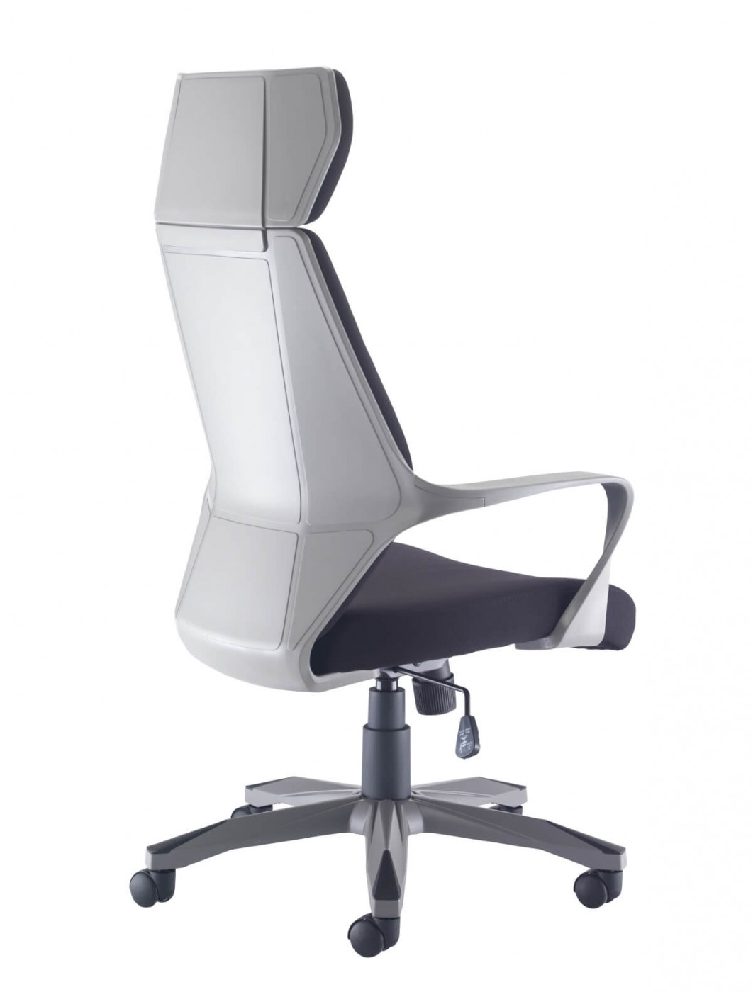 desk chair fabric elegant solutions office chairs rocky ch1783grbk 121