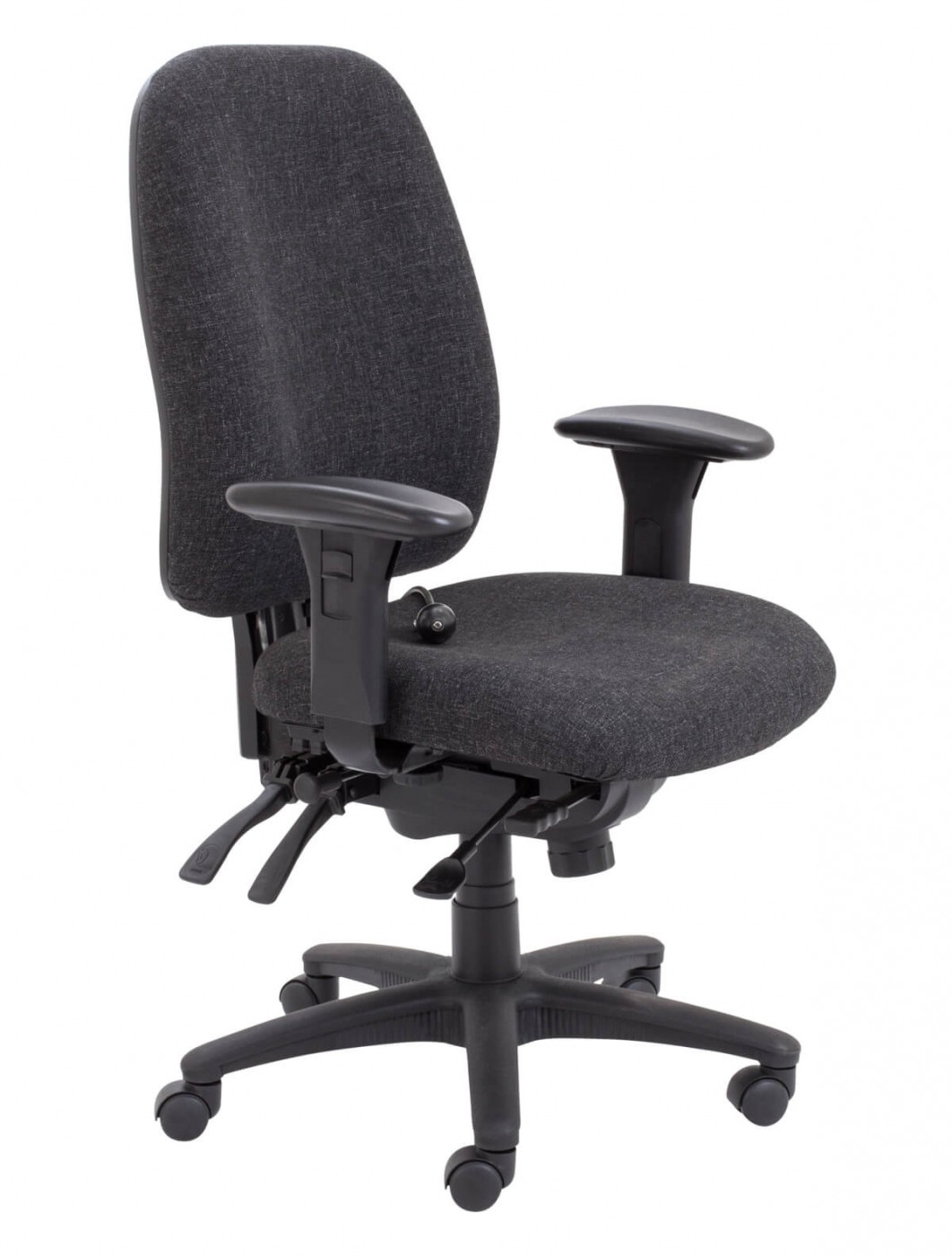Office Chairs  Vista Fabric Office Chair CH0903CH  121
