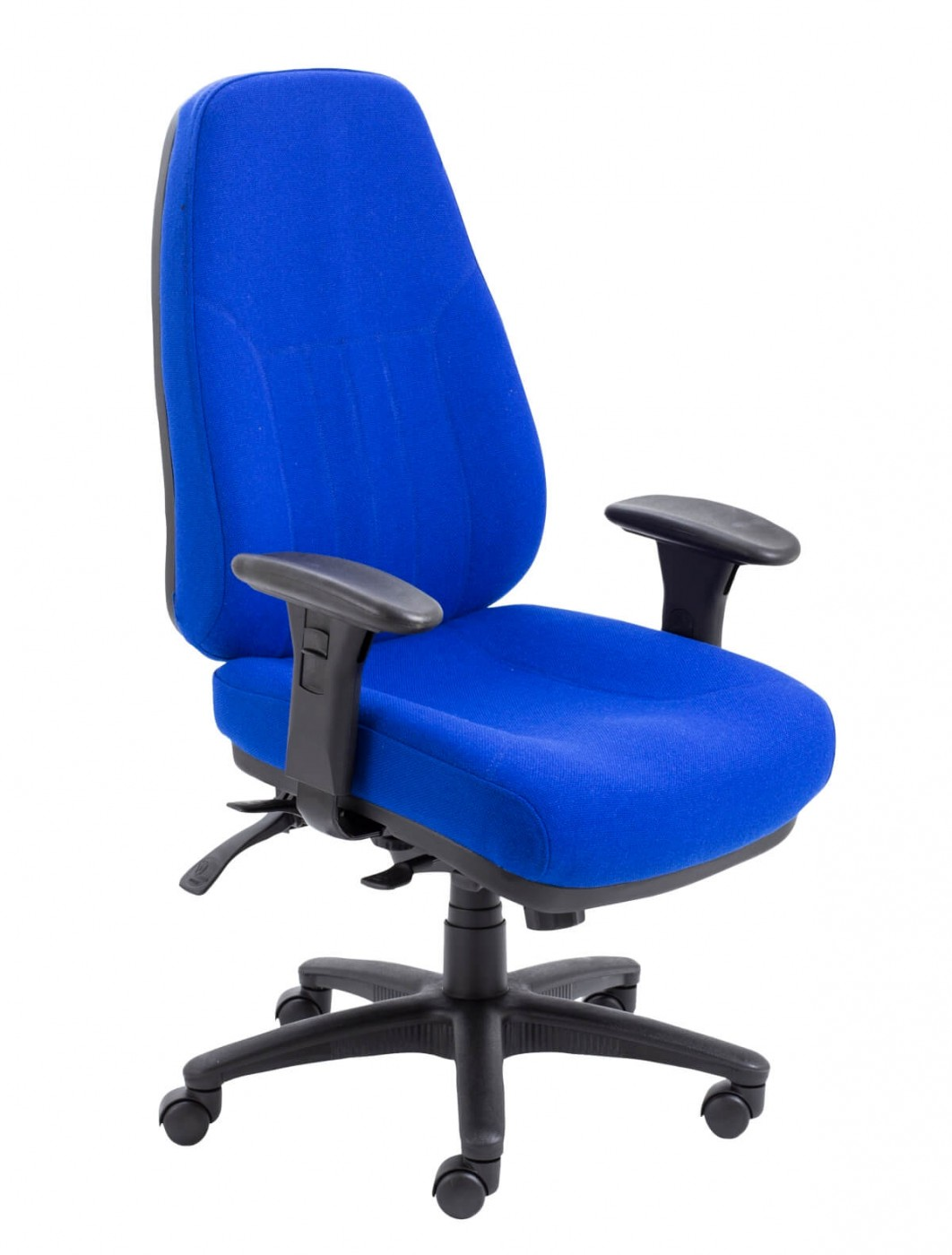 fabric office chairs uk chair covers hire durban panther 24 hour