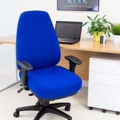 Fabric Office Chairs Uk Dressing Table Panther 24 Hour Chair
