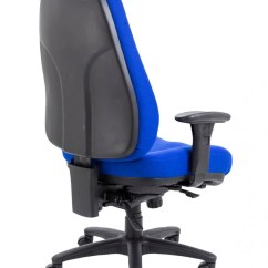 Fabric Office Chairs Uk Eames Aluminum Group Chair Panther 24 Hour