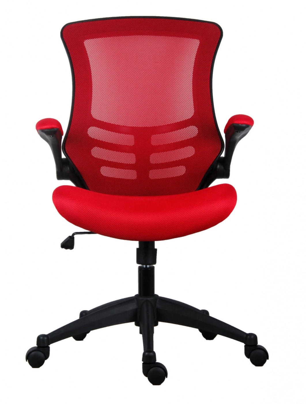 Office Chairs Marlos Mesh Office Chair In Red CH0790RD