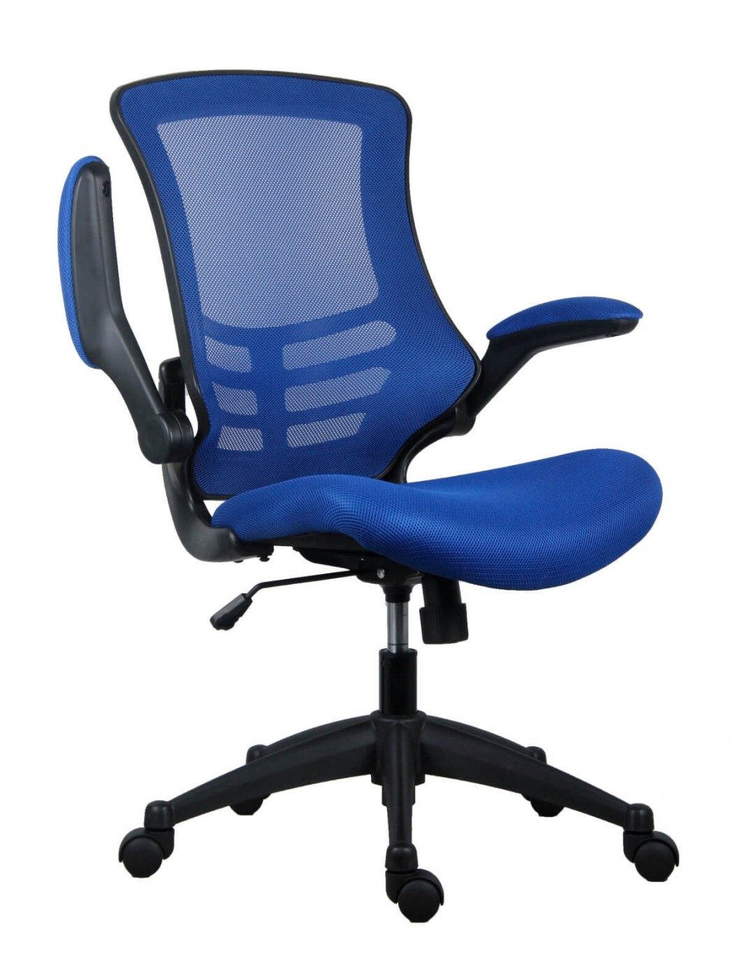 Office Chairs Marlos Mesh Office Chair In Blue CH0790BL 121 Office Furniture