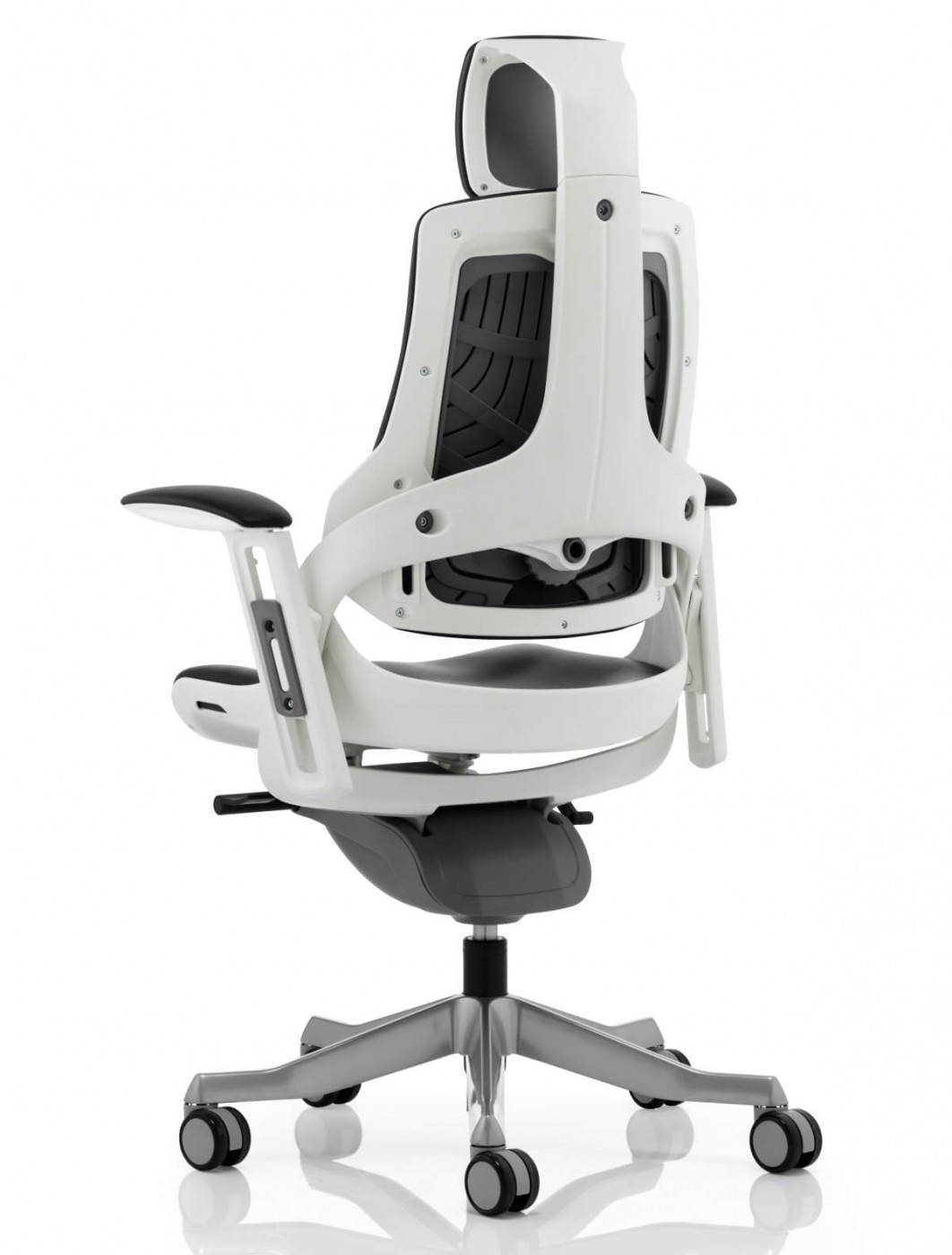 office chair with headrest hanging outdoor uk zure executive leather kc0166 121 bonded enlarged view