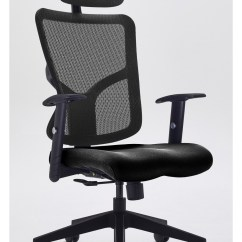 Mesh Gaming Chair Lawn Chairs For Sale Office Tc Kempes Black Etc043