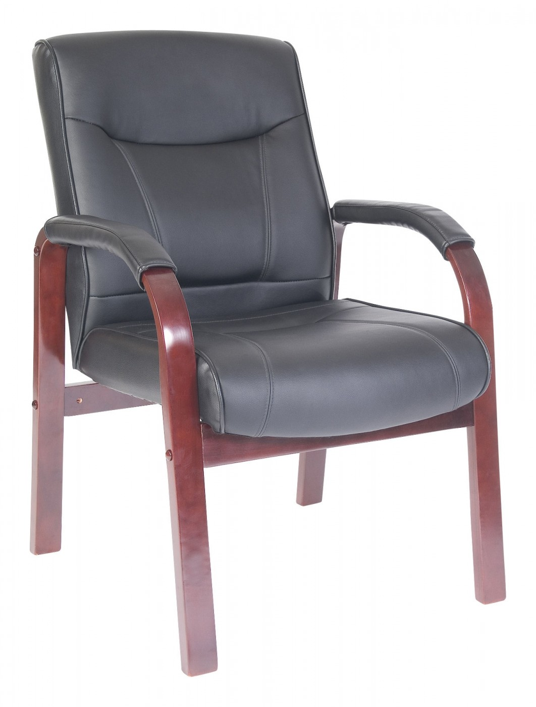 desk chairs without wheels uk green dining room visitors chair 8511md mdk 121 office furniture