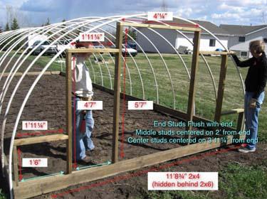 PVC Hoop House Plans