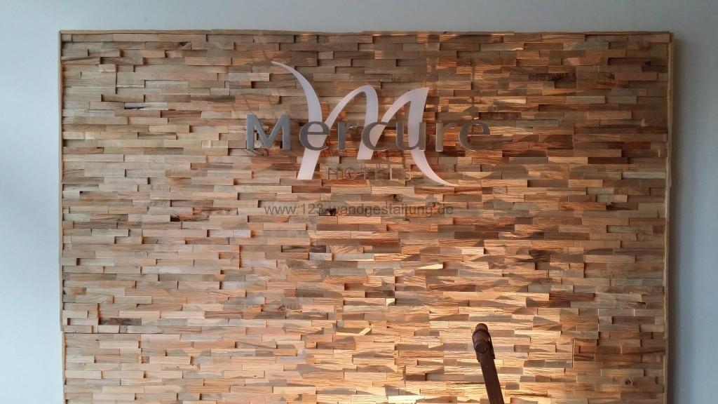 Holzpaneelen Gently  Wandverkleidung mit Paneele aus