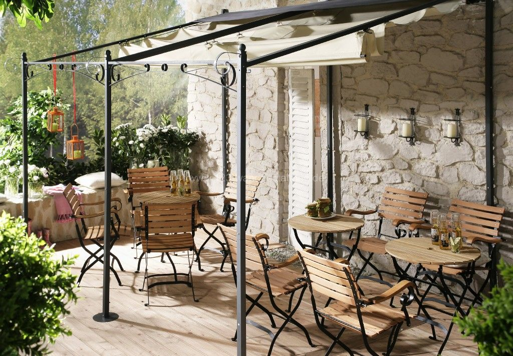 terrasse mediterran gestalten – igelscout, Gartenarbeit ideen