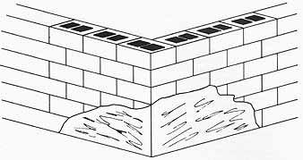 Concrete Block Foundations for Do-it-Yourself Log Home / Cabin