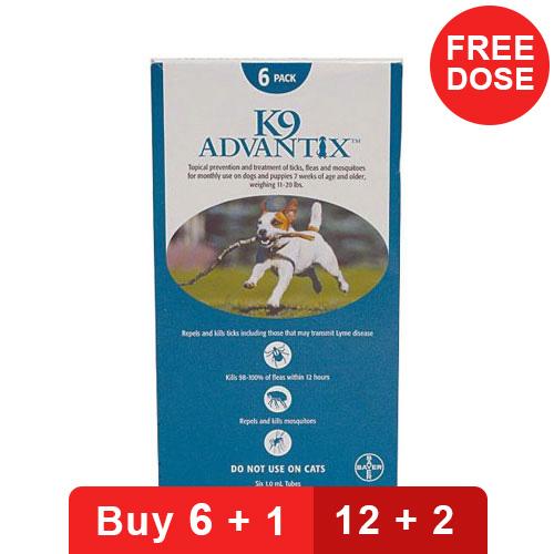 K9 Advantix for Dogs - Medium Dogs