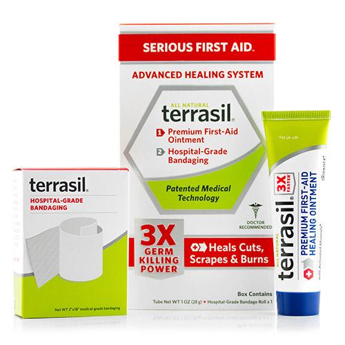 Terrasil Serious First Aid Advanced Healing System