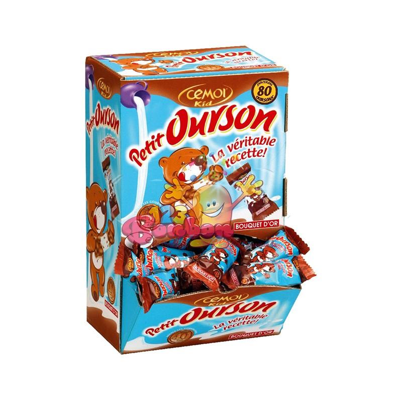 Ourson Guimauve Et Chocolat Au Lait Emballage Individuel