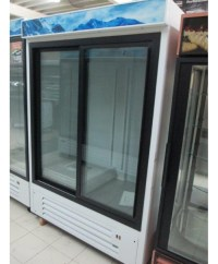 2 Sliding Glass Door Merchandiser Refrigerator