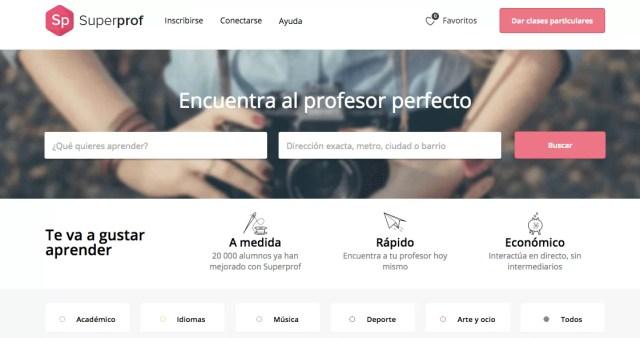 Superprof - Enseñanza colaborativa