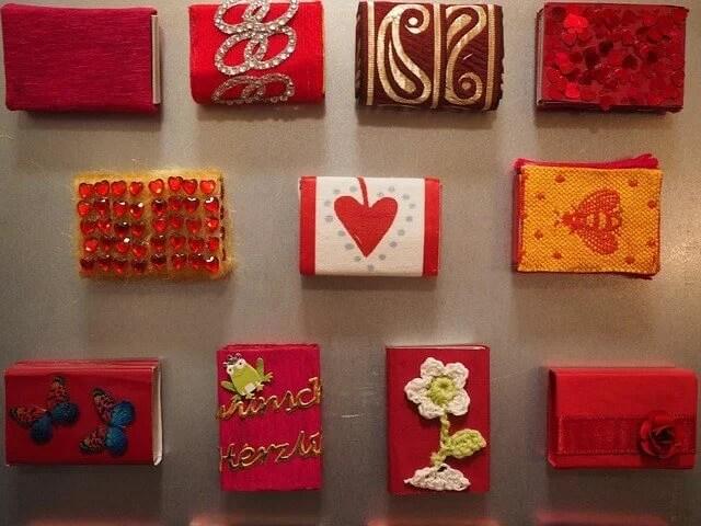 Cajas decoradas hechas a mano