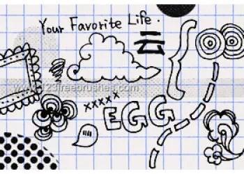 Handmade Doodle 9