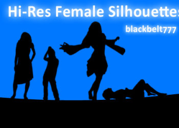Hi-Res Female Silhouette