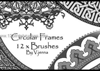 Vintage Circular Frames