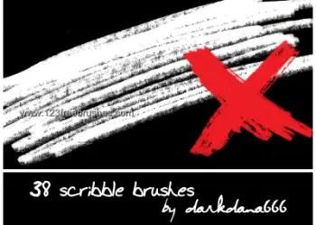 Ink Scribbles 8