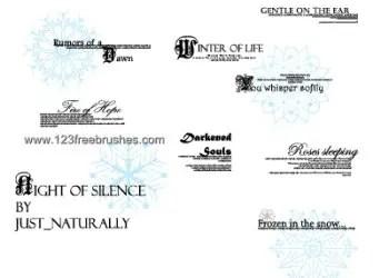 Night of Silence Lyrics