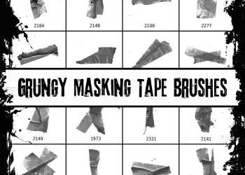 Grunge Masking Tape
