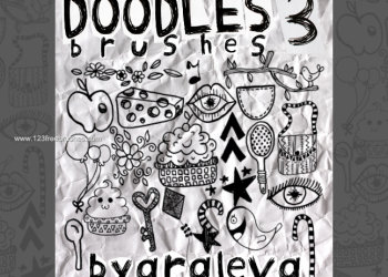 Handmade Scribbles and Doodles  3