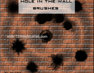 Bullet Hole In The Wall