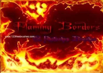 Flaming Borders