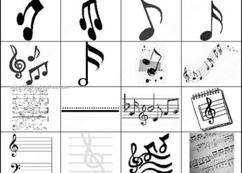 Music Notes Photoshop Brushes