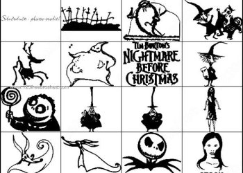 Nightmare Before Christmas Brushes