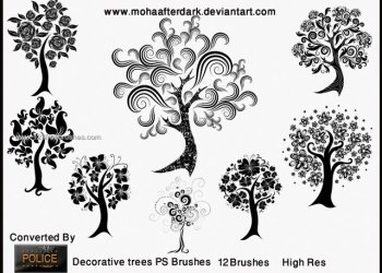 Decorative Trees