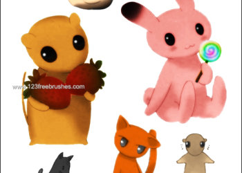 Fruits Basket Cartoon Animals