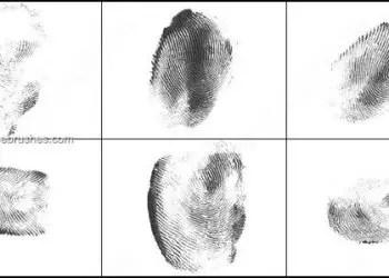 Fingerprints Photoshop Brushes