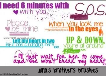 Jonas Brothers Lyric
